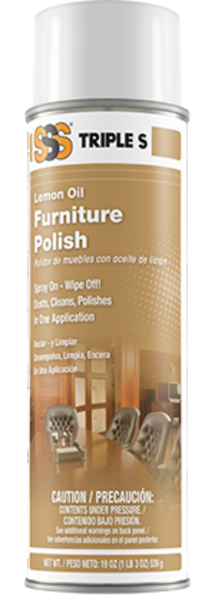 Furniture Polish & Dust Mop Treatment